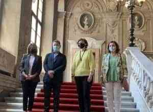 """García-Page alaba la """"autoridad moral"""" del Papa Francisco y valora la importancia de estrechar lazos comerciales y turísticos con Italia"""