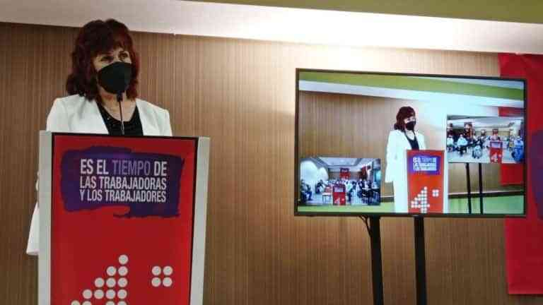 Lola Cachero fue reelegida secretaria general de la Federación de Servicios a la Ciudadanía de CCOO-CLM