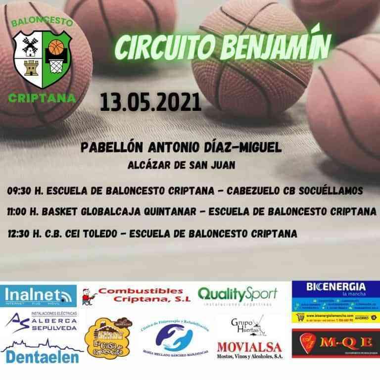 Se espera un gran fin de semana para los equipos de baloncesto Criptana