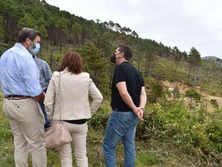 Iniciaron los trabajos de reconstrucción del sistema de captación de agua potable de Yeste