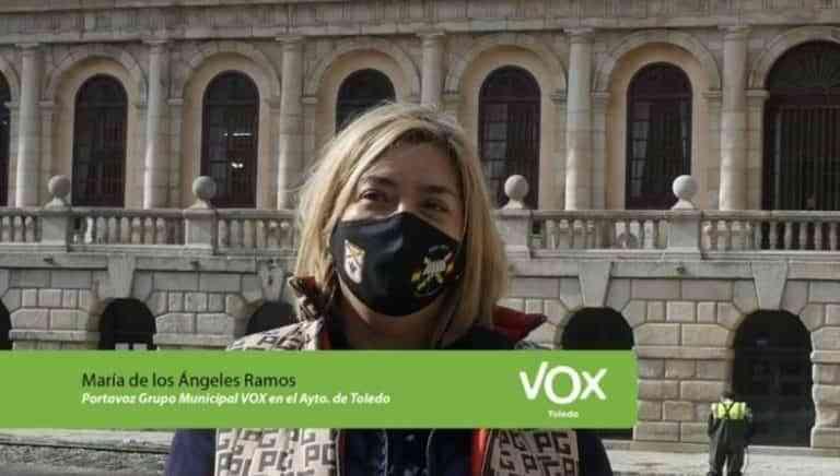 """El Grupo Municipal VOX: """"Ha comenzado la era mordaza en el Ayuntamiento de Toledo"""""""