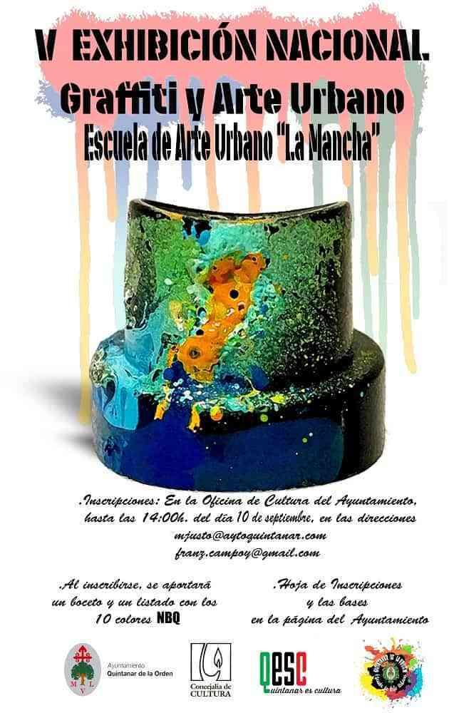 Quintanar acogerá la V Exhibición Nacional de Graffiti y Arte Urbano