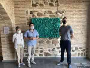 Toledo respalda la muestra de David Vimar, 'Entre Silencios', expuesta en la Galería Ar+51 hasta el 29 de agosto