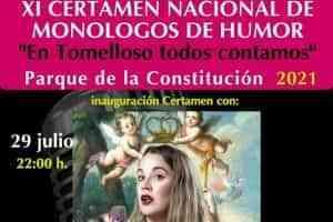 """Con 7 finalistas inicia el jueves el XI Certamen de Monólogos de Humor """"En Tomelloso todos contamos"""""""