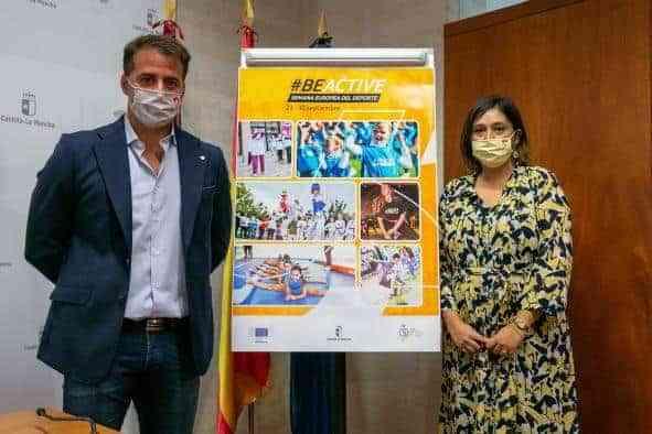 Recuperación de actividades presenciales en la Semana Europea del Deporte, que se celebrará del 23 al 30 de septiembre