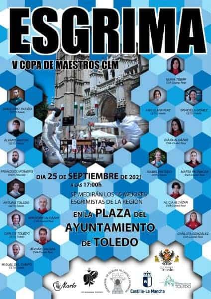 Toledo ofrece este sábado día 25 un espectacular evento de esgrima sobre tarimas en la Plaza del Ayuntamiento