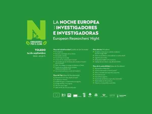Toledo saca la ciencia a la calle en la Noche Europea de los Investigadores en la que participarán 80 científicos