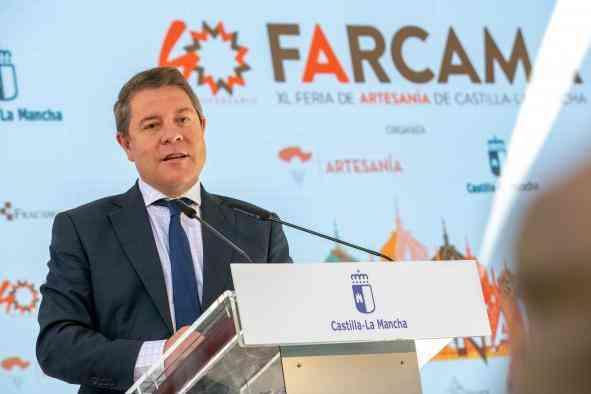 García-Page anuncia nuevos talleres de empleo por 12 millones de euros y desea que el próximo presupuesto regional concite apertura y consenso