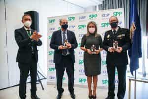 La alcaldesa clausura el Congreso del Sindicato Profesional de Policía, que ha elegido en Toledo a su nueva junta directiva
