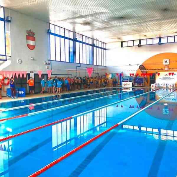 Cuarenta deportistas participaron en la primera Copa Fecam-Paralímpico de natación en Puertollano
