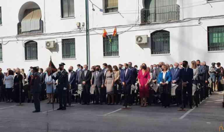 Caballero felicita a hombres y mujeres de la Guardia Civil que prestan servicio en la provincia de Ciudad Real